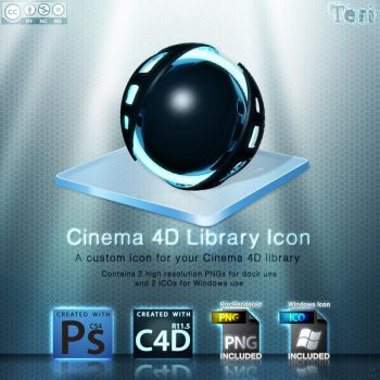 Cinema 4D Library Icon by Teri928