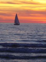 Sailboat by Rulime