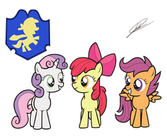 Cutie Mark Crusaders by icey-wicey-1517