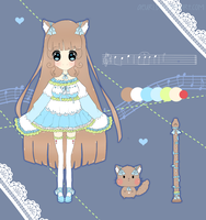 [ADOPTS] Mellodii Clarinet Cat #1 - CLOSED by Kaoyi