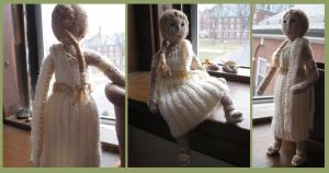 Knitted Roman Girl by sentienttree