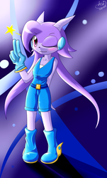 Sash Lilac by bsh0404