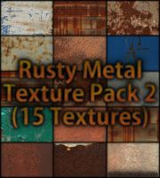 Rusty Metal Texture Pack 2 by AscendedArts