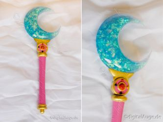 Sailor Moon Crystal - Moon Stick Prop by digitalAuge