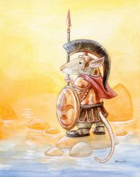 Roman Mouse by ursulav