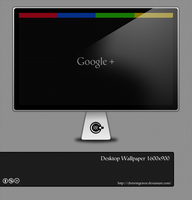 Google Plus Wallpaper by chrisringeisen