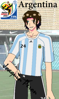 APH: FIFA 2010 Argentina by LaMademoiselleRouge
