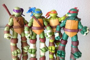 TMNT 2012 - Brothers by 0PT1C5