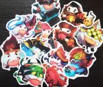 League Poro stickers! by LZCCreations