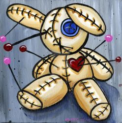 Lonely VooDoo Bunny 2 by Catsbah