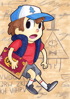 Art Card 31 - Dipper by VickyViolet