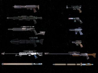 Weapons Pack SWTOR for XNAlara by Torol