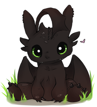 Toothless by chi-u