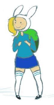First Fionna by BrookeTheFox