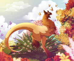 In midst of paradise by Unikeko
