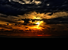 Mordor Sunset -2- HDR by IoannisCleary