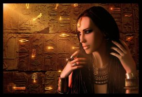 Pages In History - Queen of the Nile by ManifestedSoul