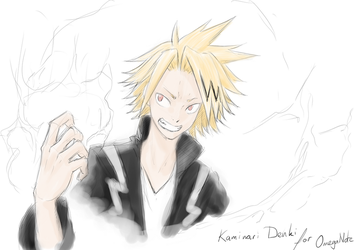 Appreciation Day: Kaminari Denki for OmegaNote by ARHDian