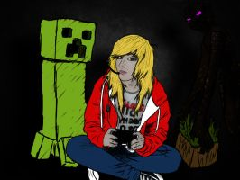Minecraft Player by SydneyNicole
