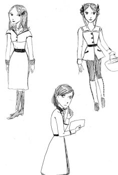 The Sorcerer's Wife Sketches by JaclynDolamore