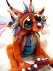 Copper Moon Dragon by Tanglewood-Thicket
