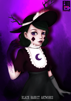 Queen Eclipsa by blackrabbitartworks