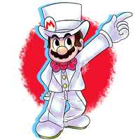 (FanArt) Wedding Mario by DNPinotti123
