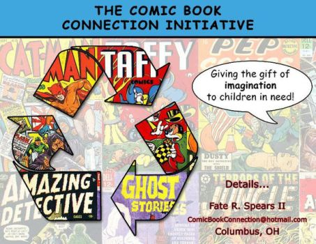 The Comic Book Connection Initiative Banner #1 by art-by-mike