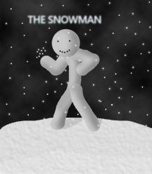 the snowman by RymNotrim