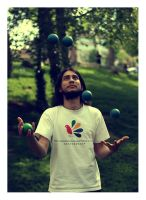 juggling at park by freakme