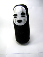 No Face Plush by Ginger-Storm
