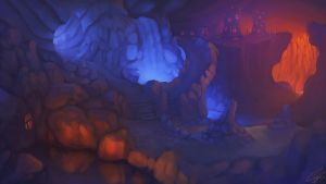 Cave Falls by Chillay