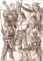 Adventurers by Righon