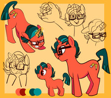 Pony Ref by CrescentMarionette