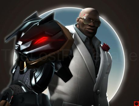 Fancy Doomfist (SFM) by TheLostRenegade