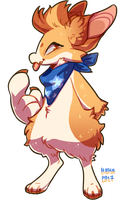 #117 Fornlee w/m - Corgi (FLASH AUCTION) by Kitkabean