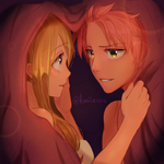 NaLu Fluff Week Day 3 Comfort / Blanket by ksmile1313