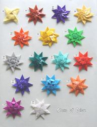 Stars of Eden, set 226-235 by Figuer