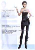 Crystal - character sheet by nominee84