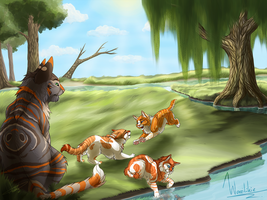 Days in the sun - Commission by Wazilikie