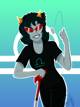 Terezi Pyrope by Gameaddict1234
