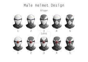 Helmet designs by 3DPad