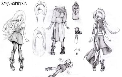 D. Gray Man character design by SaraAsphyxia