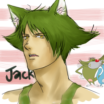 Oggy and the Cockcroaches:Jack by slouph