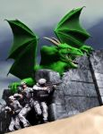 Dragon Soldiers by MADMANMIKE