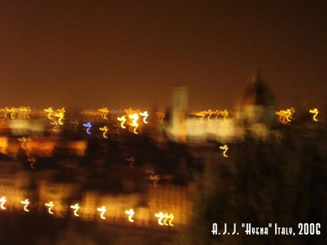 Florence at Night by laughinghyena
