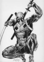 Deadpool.  by raulhidalgo