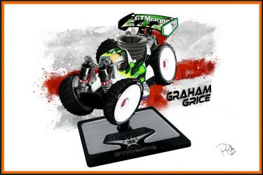 Agama Rc Nitro Buggy Cartoon by PIKEO