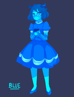 Blue-1 by PostApocalypticCunt