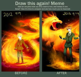 Miracles do happen AKA Draw this again! Meme by hana-tox